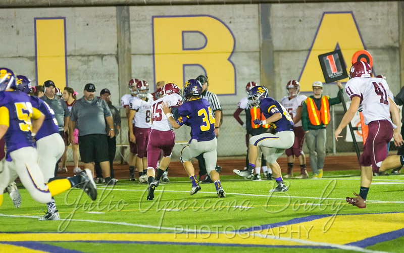 Marshfield High School Football - 0458