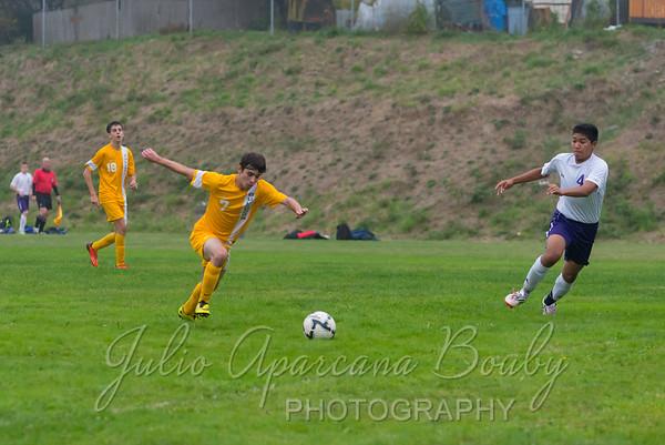 Marshfield High School Boys Soccer - 0076