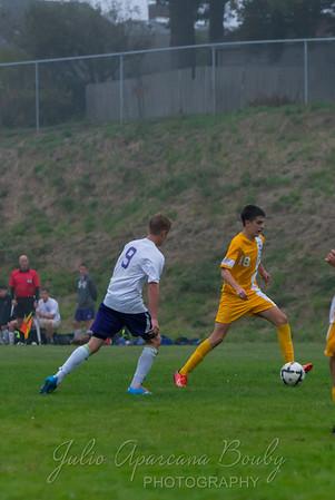 Marshfield High School Boys Soccer - 0154
