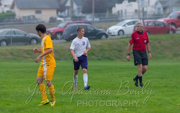 Marshfield High School Boys Soccer - 0124