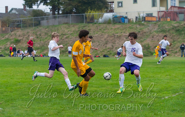 Marshfield High School Boys Soccer - 0031