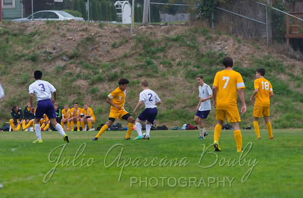 Marshfield High School Boys Soccer - 0110