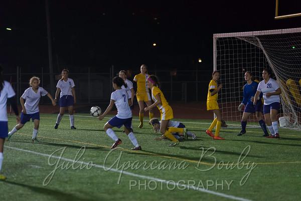 Marshfield High School Girls Soccer - 0417
