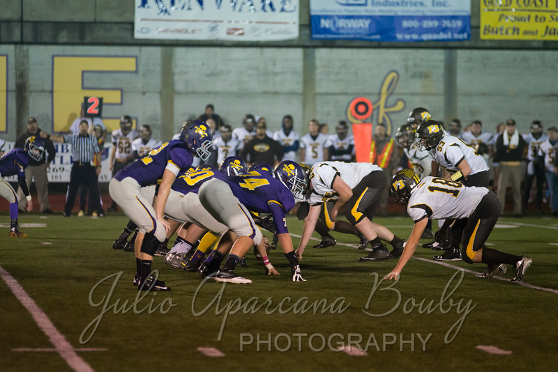 Marshfield High School Football vs North Bend - 0453