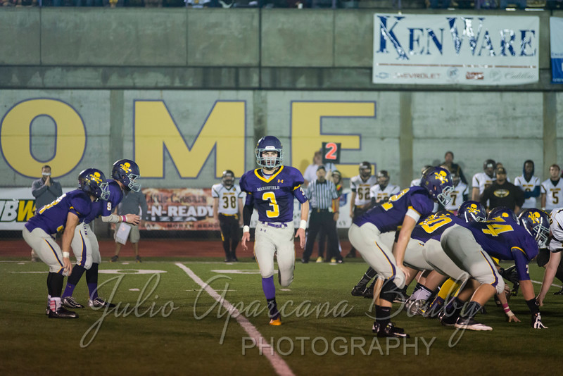 Marshfield High School Football vs North Bend - 0454
