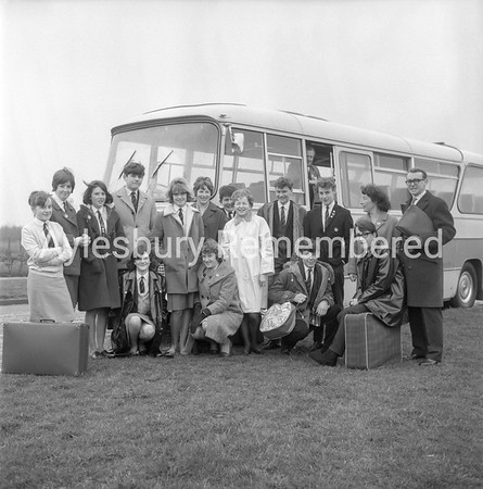 Mandeville School outing, Apr 3 1966
