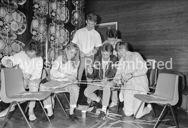 6th Form Day at Mandeville School, Sep 1987
