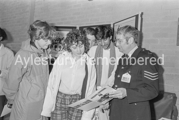 Careers Day at Mandeville School, Oct 1986
