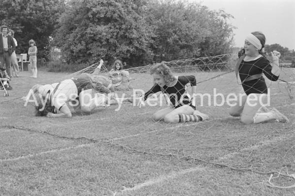 Meadowcroft County Junior School sports, June 1978