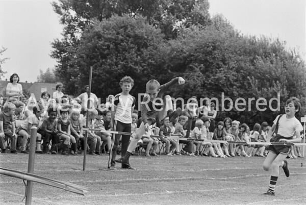 Meadowcroft County Junior School sports, July 1982
