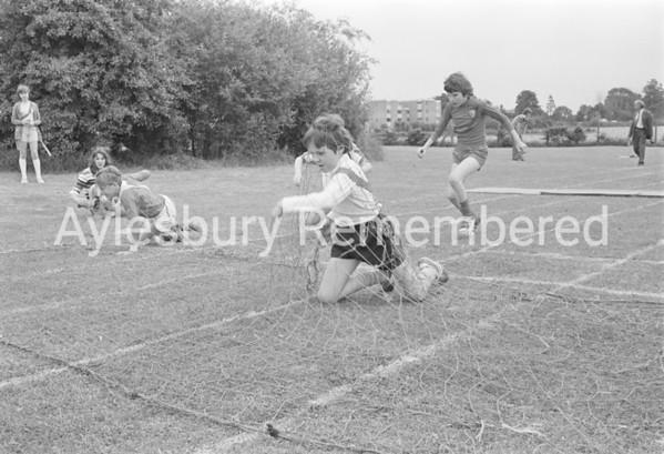 Meadowcroft School sports, June 1978