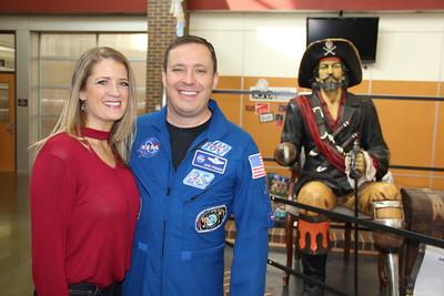 Astronaut Jack Fischer visits Louisville Middle School 2017-11-17