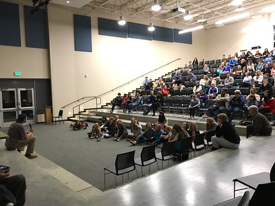 "Zach Rago ""Chasing Coral"" speech at Summit Middle School 2017-09-28"