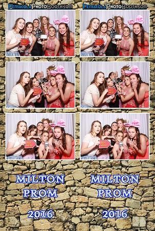 Milton Prom 5-14-2016
