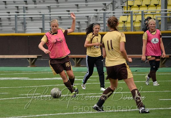 North Bend High School Girls Soccer vs Marshfield High School