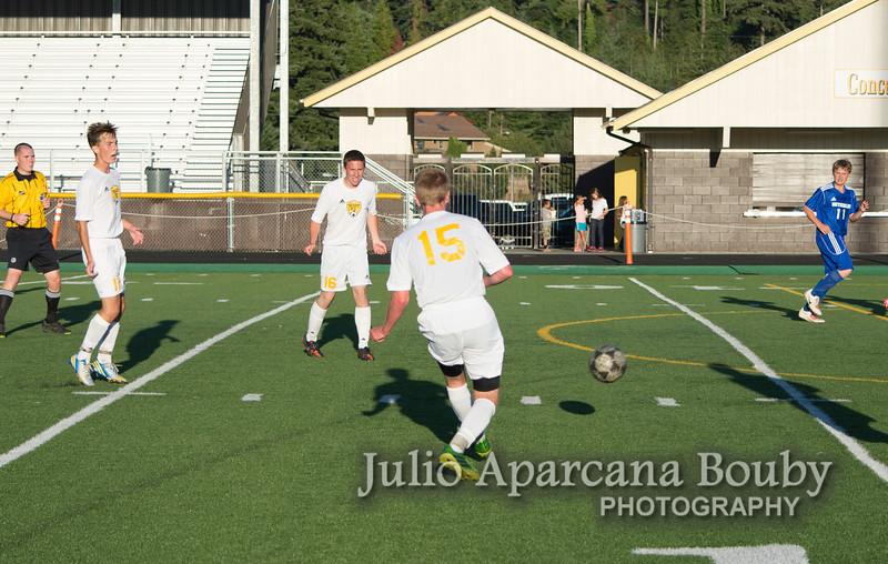 NBHS Boys Soccer vs Sutherlin - 0468