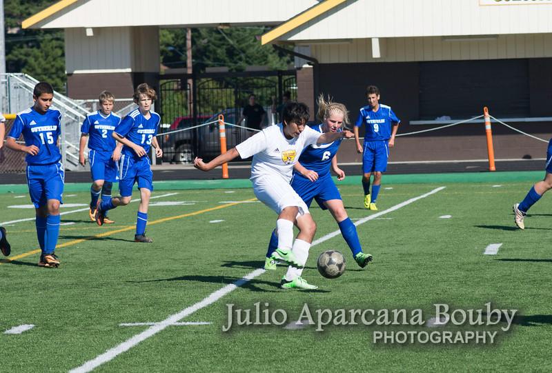 NBHS Boys Soccer vs Sutherlin - 0025