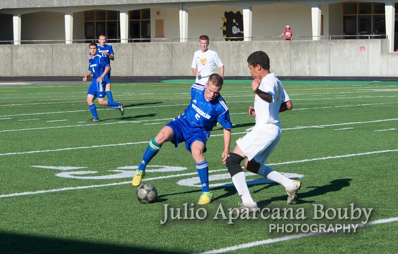 NBHS Boys Soccer vs Sutherlin - 0189