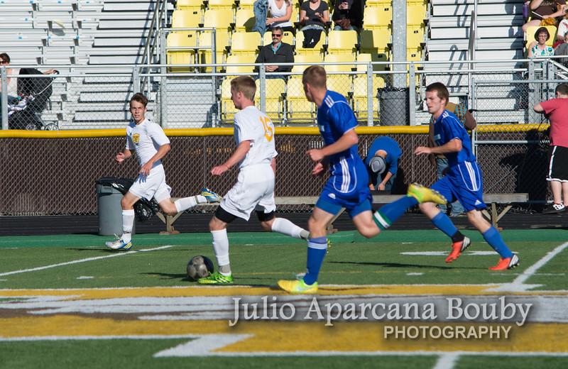 NBHS Boys Soccer vs Sutherlin - 0207