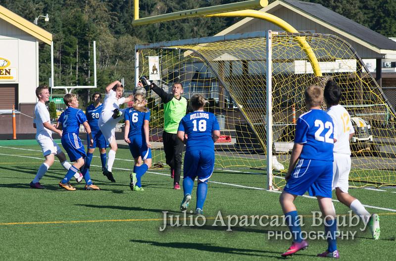 NBHS Boys Soccer vs Sutherlin - 0128