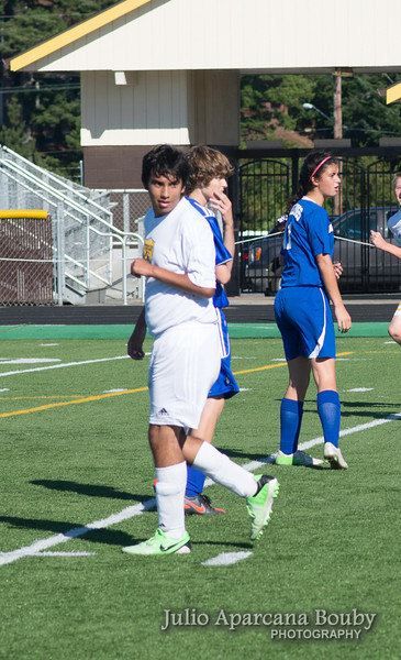 NBHS Boys Soccer vs Sutherlin - 0130