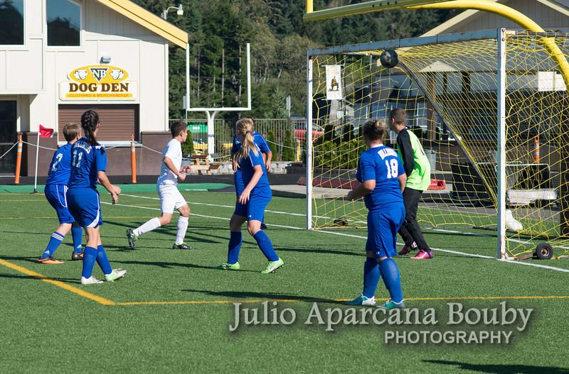 NBHS Boys Soccer vs Sutherlin - 0127