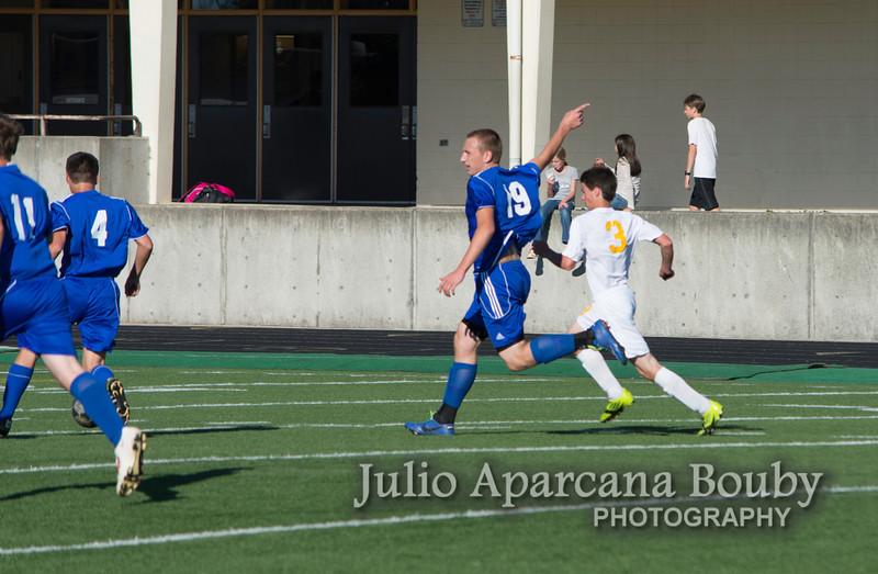 NBHS Boys Soccer vs Sutherlin - 0208