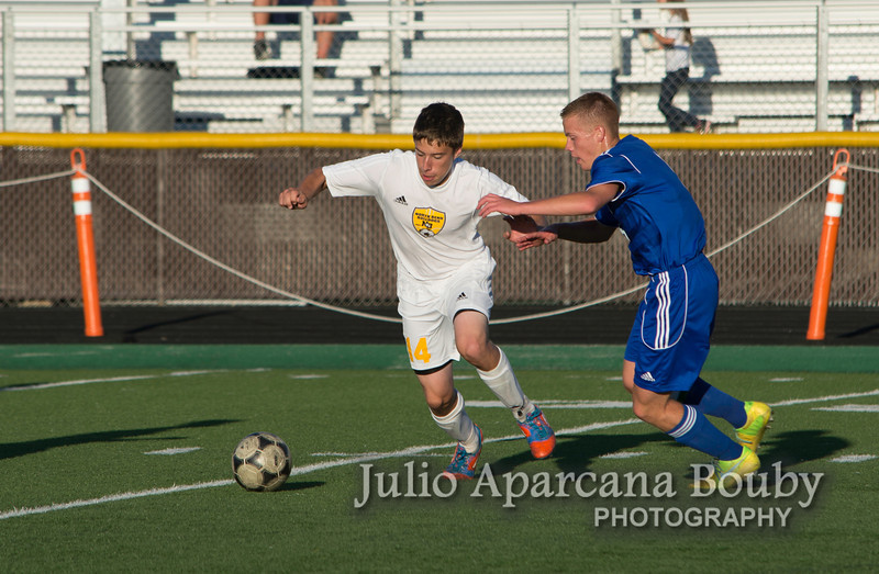 NBHS Boys Soccer vs Sutherlin - 0469
