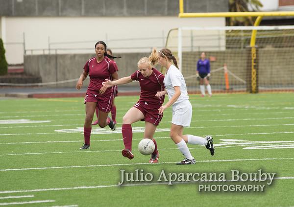 NBHS Girls Soccer vs McLoughlin - 0010
