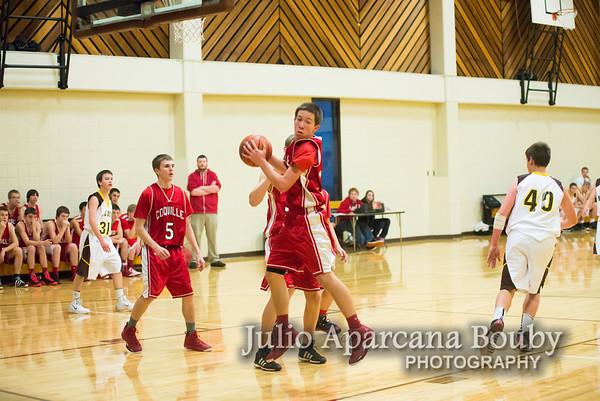 NBHS Boys JV Basketball vs Coquille - 0007