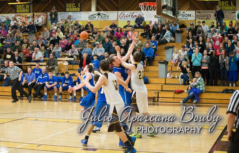 NBHS Boys Basketball vs Sutherlin - 0424