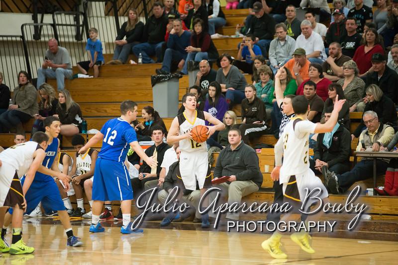NBHS Boys Basketball vs Sutherlin - 0451