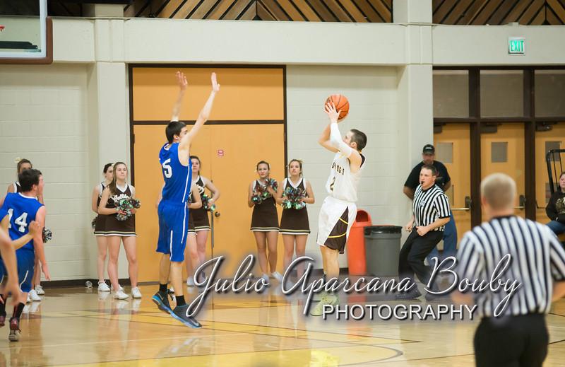 NBHS Boys Basketball vs Sutherlin - 0426