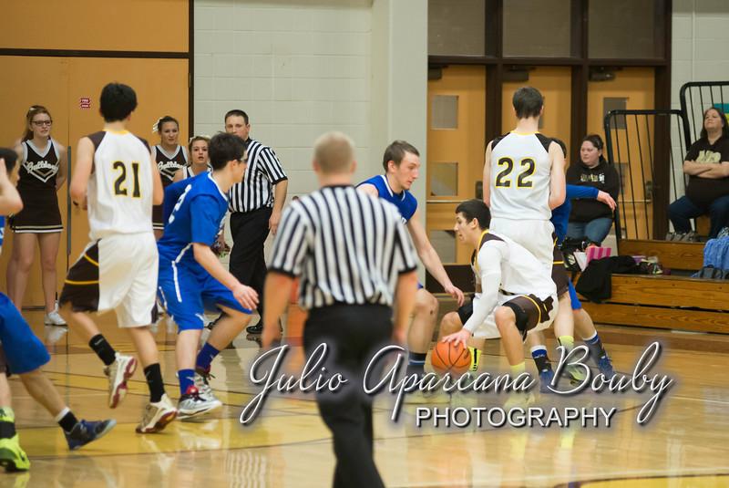 NBHS Boys Basketball vs Sutherlin - 0480