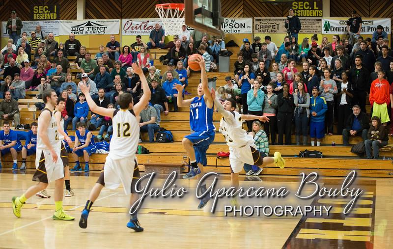 NBHS Boys Basketball vs Sutherlin - 0427