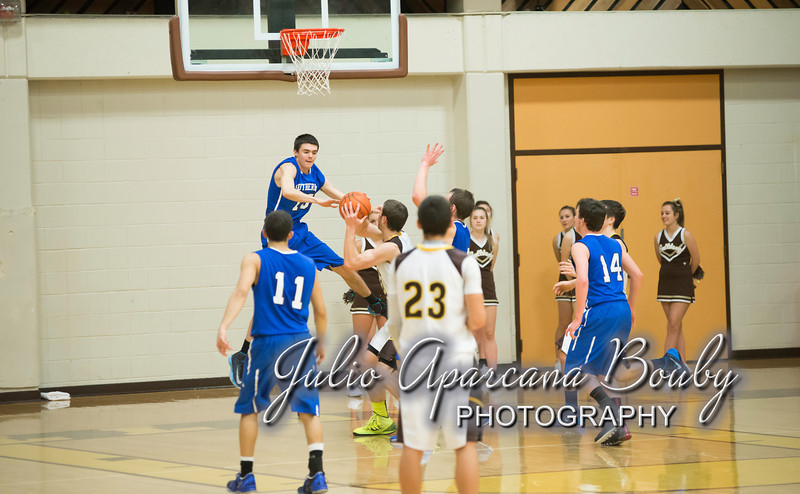 NBHS Boys Basketball vs Sutherlin - 0404