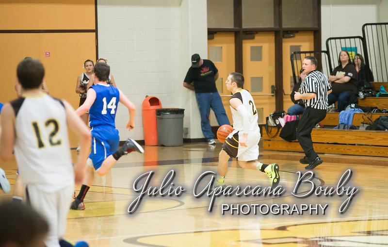 NBHS Boys Basketball vs Sutherlin - 0425