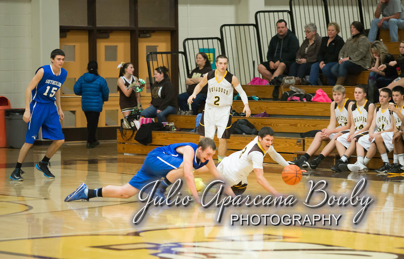 NBHS Boys Basketball vs Sutherlin - 0403