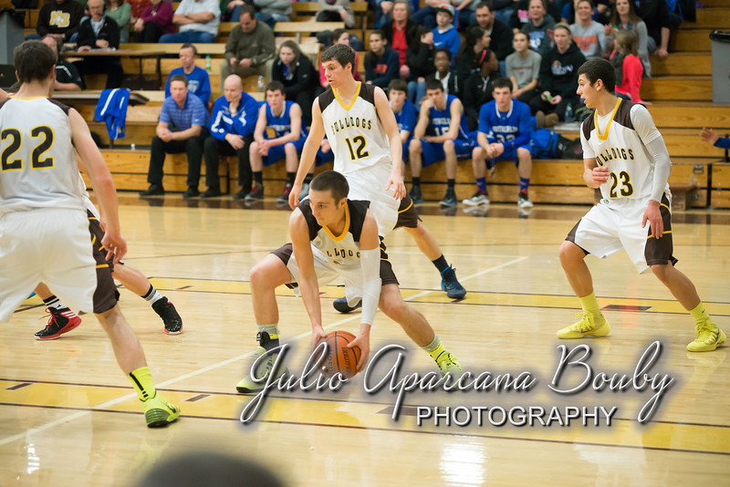 NBHS Boys Basketball vs Sutherlin - 0354