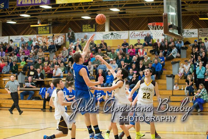 NBHS Boys Basketball vs Sutherlin - 0422