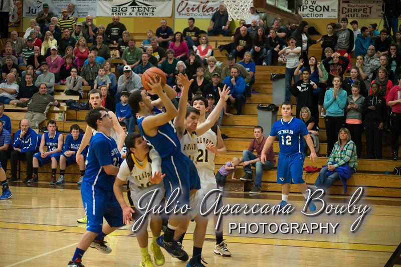 NBHS Boys Basketball vs Sutherlin - 0476