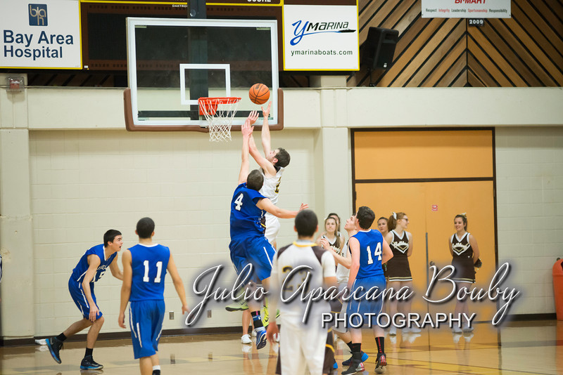 NBHS Boys Basketball vs Sutherlin - 0405