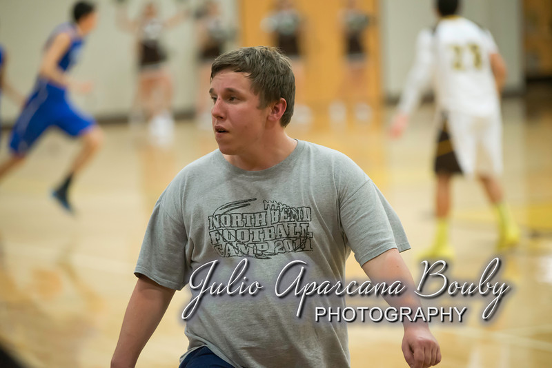 NBHS Boys Basketball vs Sutherlin - 0407