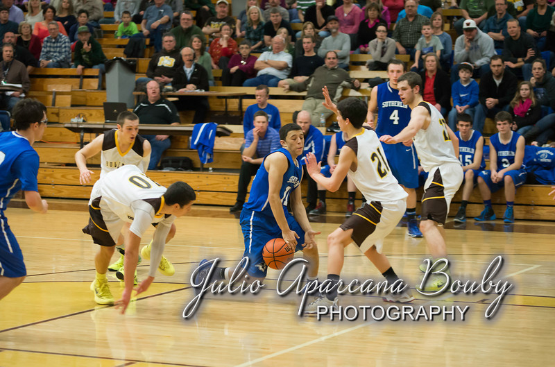 NBHS Boys Basketball vs Sutherlin - 0475