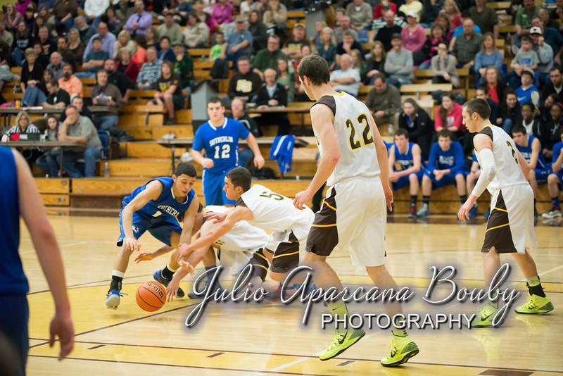NBHS Boys Basketball vs Sutherlin - 0360