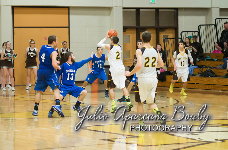 NBHS Boys Basketball vs Sutherlin - 0497