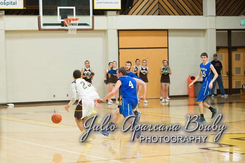 NBHS Boys Basketball vs Sutherlin - 0429