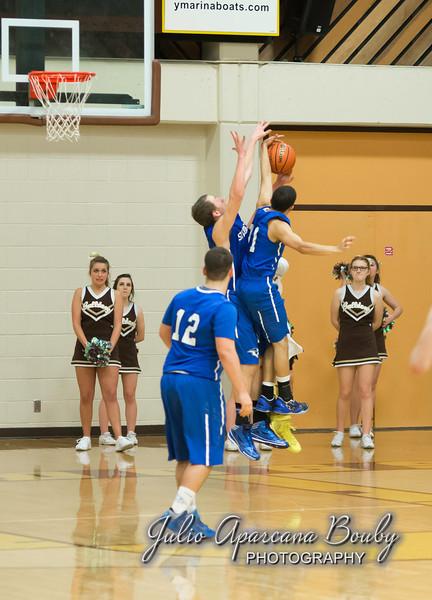 NBHS Boys Basketball vs Sutherlin - 0478