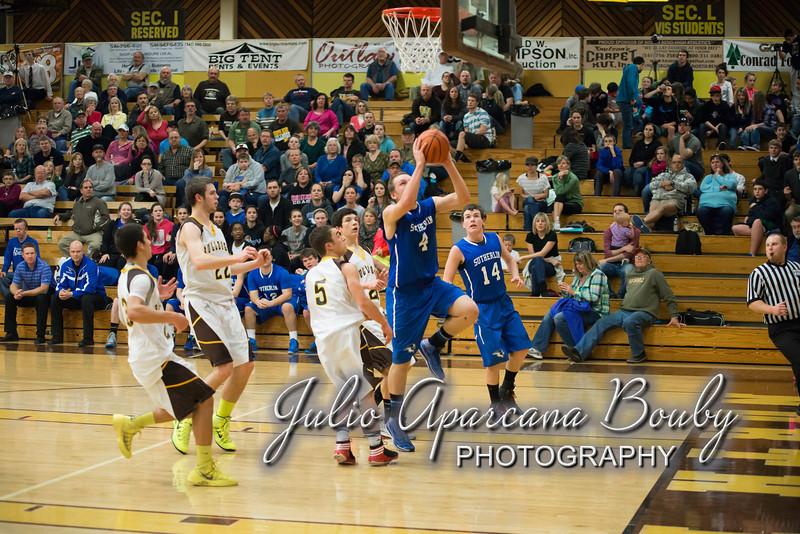 NBHS Boys Basketball vs Sutherlin - 0383