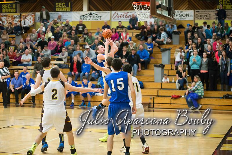 NBHS Boys Basketball vs Sutherlin - 0432
